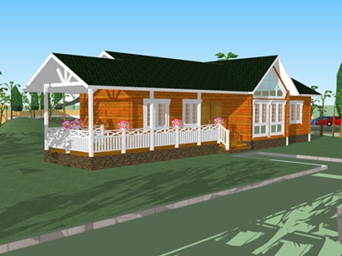 单层木屋 (4)